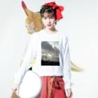 健太 下田の最期の夏 Long sleeve T-shirtsの着用イメージ(表面)