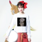 TALE  オンラインの水タバコ Long sleeve T-shirtsの着用イメージ(表面)