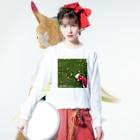 Sk8ersLoungeのinner universe osampo Long sleeve T-shirtsの着用イメージ(表面)