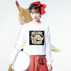 mookieeのノーリミット Long sleeve T-shirtsの着用イメージ(表面)