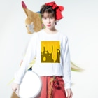 Miyuki_Sakagamiのhoney・honey Long sleeve T-shirtsの着用イメージ(表面)