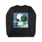 高瀬翔伍(イラスト、グラフィック、ベースのひと)の羊のTシャツ Long sleeve T-shirts