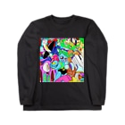 TAACHI illustrationの判決!ねこたろう Long sleeve T-shirts