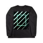 techonの電光01 Long sleeve T-shirts