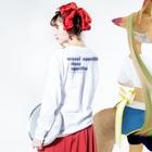 hina moritaの☆ Long sleeve T-shirtsの着用イメージ(裏面・袖部分)