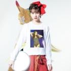 Fuzy's shopのFuzy'sgoods Long sleeve T-shirtsの着用イメージ(表面)