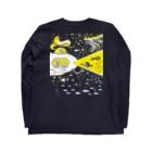 金星灯百貨店の宇宙潜水艇 Lagopus muta Long sleeve T-shirtsの裏面