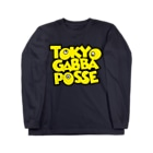 ExtalのTOKYO GABBA POSSE Long sleeve T-shirts