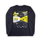 金星灯百貨店の宇宙潜水艇 Lagopus muta Long sleeve T-shirts