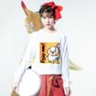 TEKETOショップ そんよんの今を楽しむ❣️ Long Sleeve T-Shirtの着用イメージ(表面)