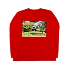 FUCHSGOLDの日本の城:土浦城 Japanese castle: Tsuchiura castle★Recommend for white base products only !!  Long sleeve T-shirts