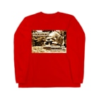 FUCHSGOLDの日本の城:土浦城 Japanese castle: Tsuchiura castle Long sleeve T-shirts