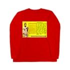 FUCHSGOLDの摩訶般若波羅蜜多心経 The Heart Sūtra/ Prajñāpāramitāhṛdaya Sūtra Long sleeve T-shirts