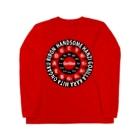 ハンサム判治(HANZI BAND ALONE)のHANZI専用RED Long sleeve T-shirts