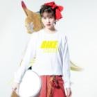 のすショップのBIKE AND YAMA Long sleeve T-shirtsの着用イメージ(表面)