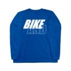 のすショップのBIKE AND STREET Long sleeve T-shirts