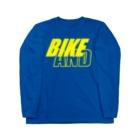 のすショップのBIKE AND YAMA Long sleeve T-shirts