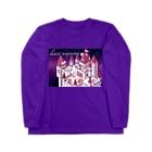 Lichtmuhleのモルモット達の王国(夜) Long sleeve T-shirts