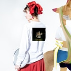 shirtskirtの好き Long sleeve T-shirtsの着用イメージ(裏面・袖部分)