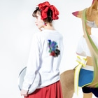 天龍(汚物推進協会)の変貌と兆候 Long sleeve T-shirtsの着用イメージ(裏面・袖部分)