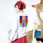 ChRiSUMAのChRiSUMA CITY PRISONER 2 Long sleeve T-shirtsの着用イメージ(裏面・袖部分)