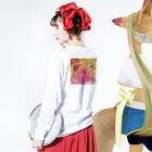 COCCOのCOCCO •HANA4 Long sleeve T-shirtsの着用イメージ(裏面・袖部分)