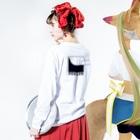 LOLのPEELER - 02 Long sleeve T-shirtsの着用イメージ(裏面・袖部分)