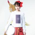 GAKU style のNMR GR Long sleeve T-shirtsの着用イメージ(表面)