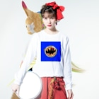 MOGUMO SHOPのpizzaboy Long sleeve T-shirtsの着用イメージ(表面)