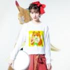 みことのお店のキュアロゼッタ Long sleeve T-shirts