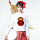 KING-COBRAのHATTARI Long sleeve T-shirtsの着用イメージ(表面)