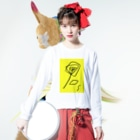 SAKI HOTAEのRomance of Y Long sleeve T-shirtsの着用イメージ(表面)
