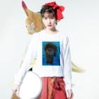 Onlywanのおやつください! Long sleeve T-shirtsの着用イメージ(表面)