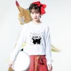 崔琴美(チェ・クンミ)のNARCISSIST Long sleeve T-shirtsの着用イメージ(表面)