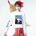umaoのチームUFO Long sleeve T-shirtsの着用イメージ(表面)