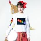 報道学会の12 kanossa Long sleeve T-shirtsの着用イメージ(表面)