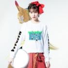 週刊まえだーの2019 NATSUDAA-T(LONG) Long sleeve T-shirtsの着用イメージ(表面)