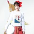 Nao TatsumiのSan Jose, California Long Sleeve T-Shirtの着用イメージ(表面)