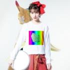 水草のMAPたん4 Long sleeve T-shirtsの着用イメージ(表面)