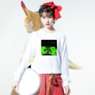Keita Roimoのhacker news Long sleeve T-shirtsの着用イメージ(表面)