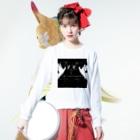 TALE  オンラインの幼女ちゃん黒 Long sleeve T-shirtsの着用イメージ(表面)