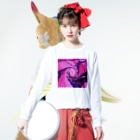 AWAKE_DESIGNのawake342 Long sleeve T-shirtsの着用イメージ(表面)