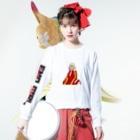 Raymond Gomez澪のEMO girl  Long sleeve T-shirtsの着用イメージ(表面)