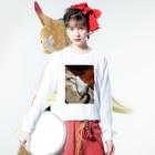 gadkのGOROn Long sleeve T-shirtsの着用イメージ(表面)