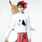 山月まりのMAKAMI Long sleeve T-shirtsの着用イメージ(表面)