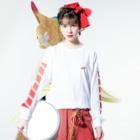 ペンギン寿司のMAGURO Long Sleeve T-Shirtの着用イメージ(表面)