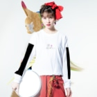 tsuchiyamadokaのホリデイ Long sleeve T-shirtsの着用イメージ(表面)