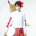 sauna.jpのSPA!SAUNA! Long sleeve T-shirtsの着用イメージ(表面)