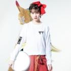 派菜/花田のValhalla ロンT(伊風カラー) Long sleeve T-shirtsの着用イメージ(表面)