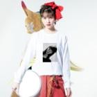 chisatoptrの千聖chisato Long sleeve T-shirtsの着用イメージ(表面)